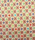 Keepsake Calico Fabric-Pink Check