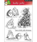 Penny Black Clear Stamps-Holly Jolly