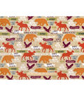 Snuggle Flannel Fabric 42\u0022-Forest Lake
