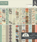 Authentique Double-Sided Cardstock Pad 12\u0022X12\u0022-Pastime 12 Designs