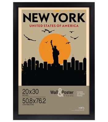 MCS Industries Gallery Wall & Poster Frame 20''x30''-Black