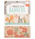 DCWV 6\u0022x8\u0022 DIY Project Stack Banners: Canvas