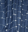 Waverly Upholstery Fabric 54\u0022-Geo Metrics Indigo