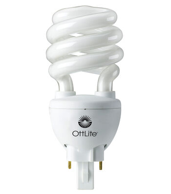 OttLite 20w Replacement Swirl Plug-in Bulb (Replacement Type M)