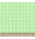 Jennifer Paganelli Cotton Fabric-Pearl Geometric