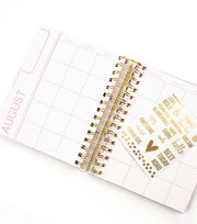 Teresa Collins™ Foil Stripes Planner, , hi-res