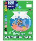Roselle Vibrant Art Construction Paper Value Pack 300 Sheets