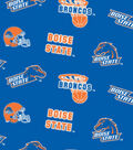 Boise State University Broncos Fleece Fabric 58\u0022-All Over