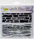Crafter\u0027s Workshop Gabrielle Pollacco Template 6\u0027\u0027x6\u0027\u0027-Hard Textures