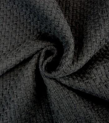 "Cosplay by Yaya Han Basketweave Fabric 58""-Black"