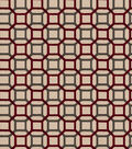 Eaton Square Fabric-Cardinal Reeves