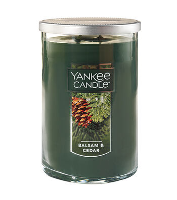Yankee Candle Large 22 oz. 2-Wick Balsam & Cedar Scented Tumbler Candle