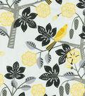 Home Decor 8\u0022x8\u0022 Fabric Swatch-Small Talk Blackbird