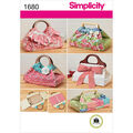 Simplicity Pattern 1680OS One Size -Simplicity Crafts Cr