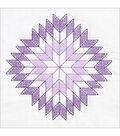 Stamped White Quilt Blocks 18\u0022X18\u0022 6/Pkg-Lone Star