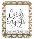 Save The Date™ 8\u0027\u0027x10\u0027\u0027 Gold Frame with Crystal-Cards & Gifts