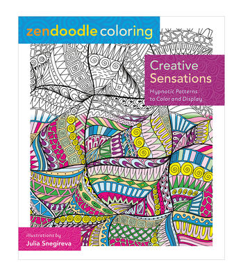 Adult Coloring Book-St. Martin's Press Zendoodle Creative Sensations