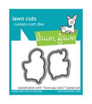 Lawn Fawn Lawn Cuts Custom Craft Die -Love You Tons, , hi-res