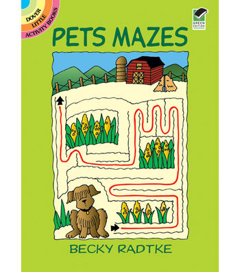 Dover Publications-Pets Mazes Book