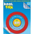 Kool Tak Ultra Clear Tape 0.25\u0022 x 16 yards