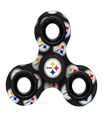 Pittsburgh Steelers Diztracto Spinnerz-Three Way Fidget