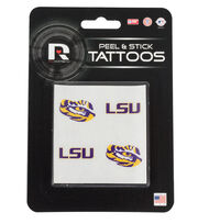 Louisiana State University Tigers Peel & Stick Tattoos, , hi-res