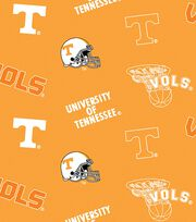 "University of Tennessee Volunteers Fleece Fabric 58""-All Over, , hi-res"
