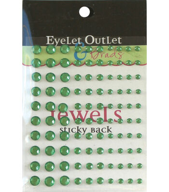 Eyelet Outlet Bling Self-Adhesive Jewel Multi Size