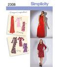 Simplicity Pattern 2308H5 6-8-10-12--Simplicity Misses