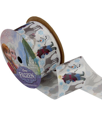 "Frozen Ribbon 1-1/2""x9'-The Guys"