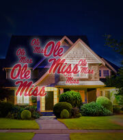 University of Mississippi Team Pride Light Projector, , hi-res