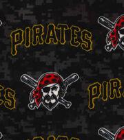 "Pittsburgh Pirates Fleece Fabric 58""-Digital, , hi-res"