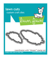 Lawn Fawn Lawn Cuts Custom Craft Die-Dream, , hi-res