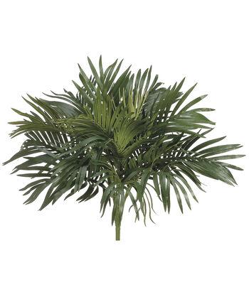 "16"" Parlor Palm Bush with O Twig Green"