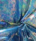 Tie Dye Oil Slick Foil Blue