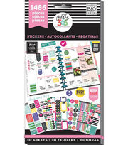Create 365 Happy Planner Sticker Value Pack-Everyday, 1486/Pkg, , hi-res