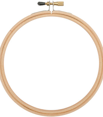 "Frank A. Edmunds Wood Embroidery Hoop w/Round Edges 4""-Natural"
