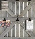 Farmhouse Barn Door with Clips