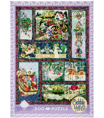 "Jigsaw Puzzle 500 Pieces 24""X18""-In Full Bloom"