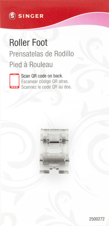 Roller Foot For Low-Shank Sewing