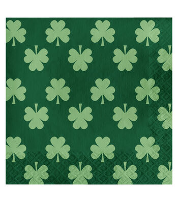 St. Patrick's Day Pack of 20 Paper Lunch Napkins