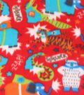 Blizzard Fleece Fabric 59\u0022-Super Animals