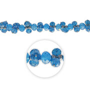 "Blue Moon Beads 7"" Crystal Strand, Dangles, Light Blue, , hi-res"