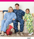 Simplicity Patterns 1731A Adult & Child\u0027s Fleece Jumpsuit-Size 4-5-6-7-8