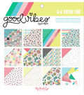 My Mind\u0027s Eye Good Vibes 24-sheets 6\u0027\u0027x6\u0027\u0027 Double-Sided Paper Pad