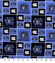 "University of North Carolina Tar Heels Cotton Fabric 43""-Block, , hi-res"