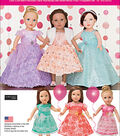 Simplicity Patterns Us1135Os-Simplicity Formal Dresses For 18 Dolls-One Size