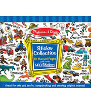 Melissa & Doug Sticker Collection - Blue, , hi-res