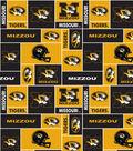 University of Missouri Tigers Fleece Fabric 58\u0027\u0027-Block