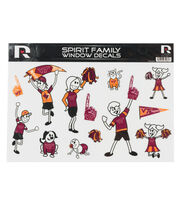 Virginia Tech Hokies Window Decal-Family, , hi-res